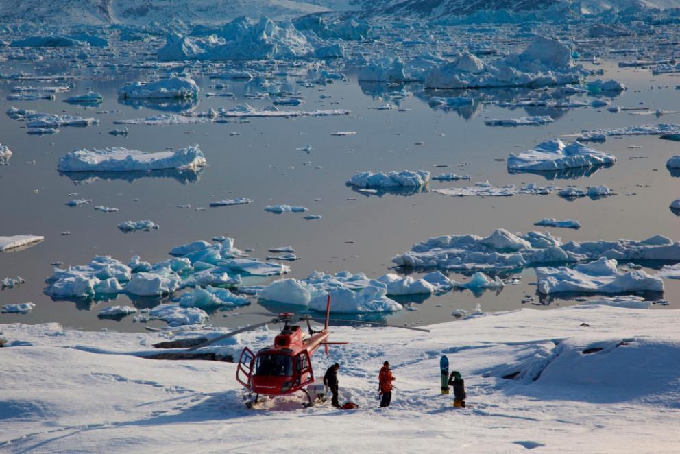 heli skiing in greenland arctic heli skiing arctic heli skiing