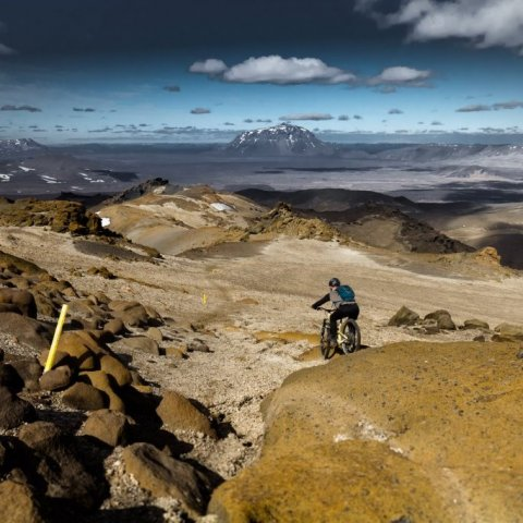 Mountain Biking in Iceland's highlands